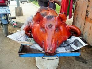 Battambang - Porc laqué