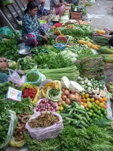 Battambang - Légumes