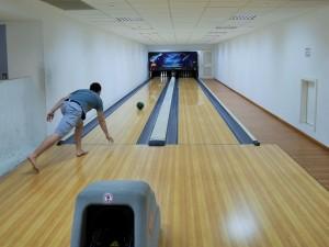 Bowling dans la résidence