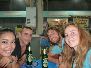 Bangkok - Avec les amis
