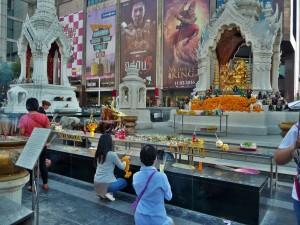 Bangkok - Temple de la consommation