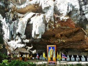 Khao Sok - Temple dans la grotte