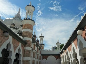 Kuala Lumpur - Mosquée Jamek