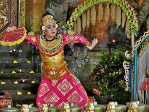 Ubud - Danse traditionnelle
