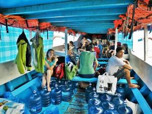 Départ pour Nusa Lembongan