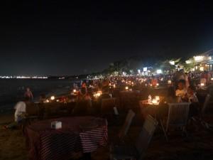 Jimbaran - Resto de plage