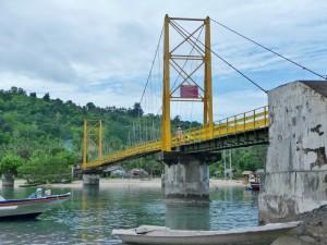 Pont entre Nusa Lembongan et Ceningan
