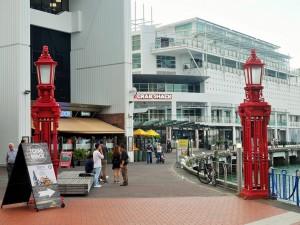 Auckland - Quartier du port