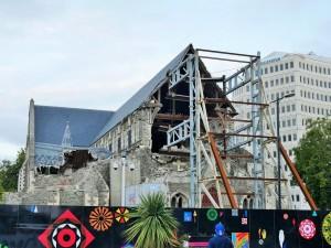 Christchurch - Suite au tremblement de terre