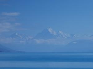 Lac Pukaki - Mount Cook