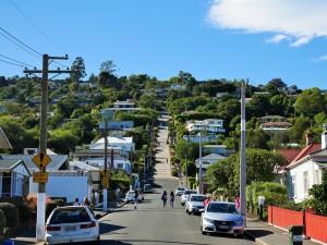 Dunedin - Rue la plus pentue du monde